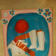 Muñecas Nancy y Lucas: VESTIDO MINI SHORT DE MUÑECA NANCY NEGRA - ORIGINAL DE LA EPOCA. Lote 222354286