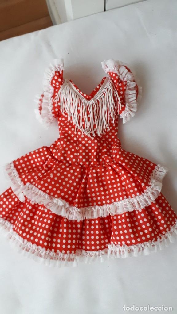 NANCY VESTIDO GITANA ORIGINAL (Juguetes - Muñeca Española Moderna - Nancy y Lucas, Vestidos y Accesorios)