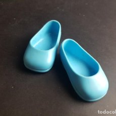 Muñecas Nancy y Lucas: ZAPATOS AZULES NANCY NEW MODERNA. Lote 222717226