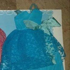 Muñecas Nancy y Lucas: VESTIDO DE NANCY MODELO CUMPLEAÑOS EN AZUL. Lote 222957147