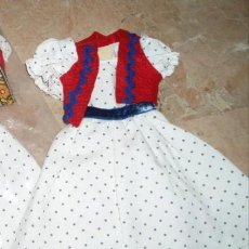 Muñecas Nancy y Lucas: CONJUNTO DE NANCY MODELO PASTORA DE LOS 70 (PRIMER MODELO). Lote 223019382