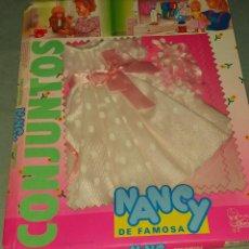 Muñecas Nancy y Lucas: VESTIDO MUÑECA NANCY- TRAJE DE NOVIA. Lote 223803618