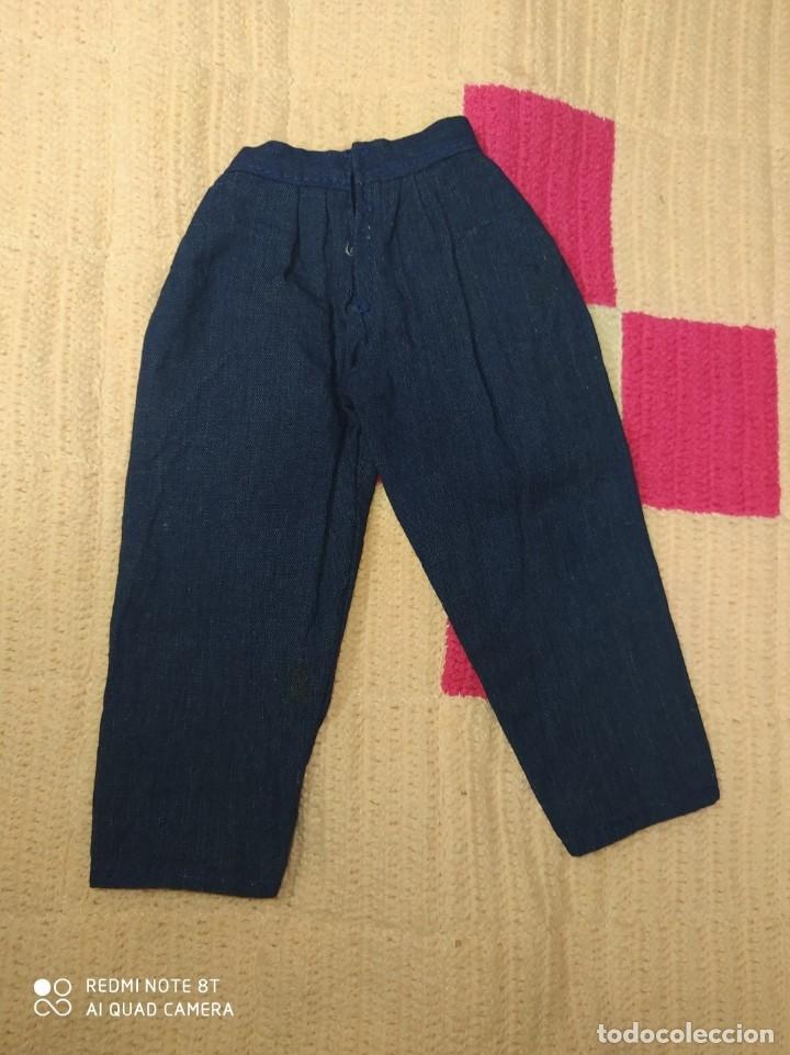 Muñecas Nancy y Lucas: Pantalón azul con pinzas de muñeca Nancy, Famosa - Foto 2 - 224554167