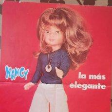 Muñecas Nancy y Lucas: POSTER NANCY LA MÁS ELEGANTE FAMOSA. Lote 224616907