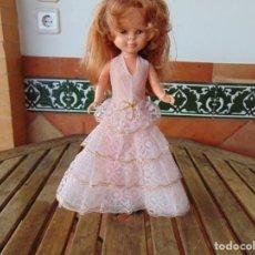 Muñecas Nancy y Lucas: VESTIDO CONJUNTO PARA LA MUÑECA NANCY O SIMILAR NO TIENE ETIQUETA. Lote 225003065