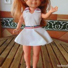 Muñecas Nancy y Lucas: VESTIDO CONJUNTO DE LA MUÑECA NANCY DE FAMOSA TENISTA TIENE ETIQUETA. Lote 225003680