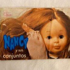 Muñecas Nancy y Lucas: PEQUEÑO CATÁLOGO DE VESTIDOS Y COMPLEMENTOS DE NANCY. DÉCADA DE LOS 70.. Lote 226308210