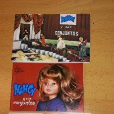 Muñecas Nancy y Lucas: LOTE 3 CATALOGOS VESTIDOS DE NANCY, AÑOS 70. Lote 226678640