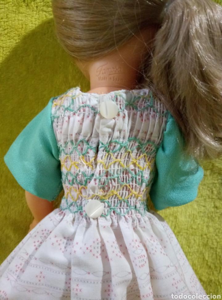 Muñecas Nancy y Lucas: Vestido Nido de abeja para Nancy años 70 - Foto 2 - 228539445