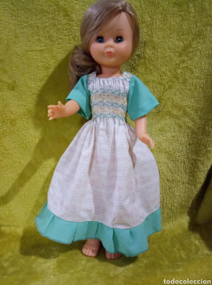 Muñecas Nancy y Lucas: Vestido Nido de abeja para Nancy años 70 - Foto 3 - 228539445