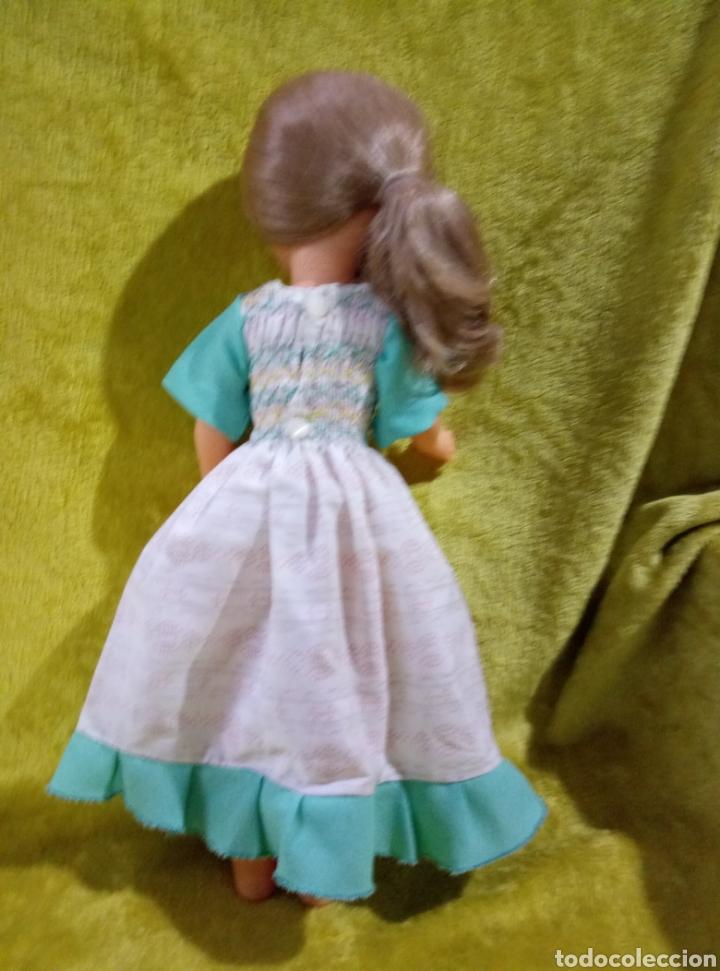 Muñecas Nancy y Lucas: Vestido Nido de abeja para Nancy años 70 - Foto 4 - 228539445