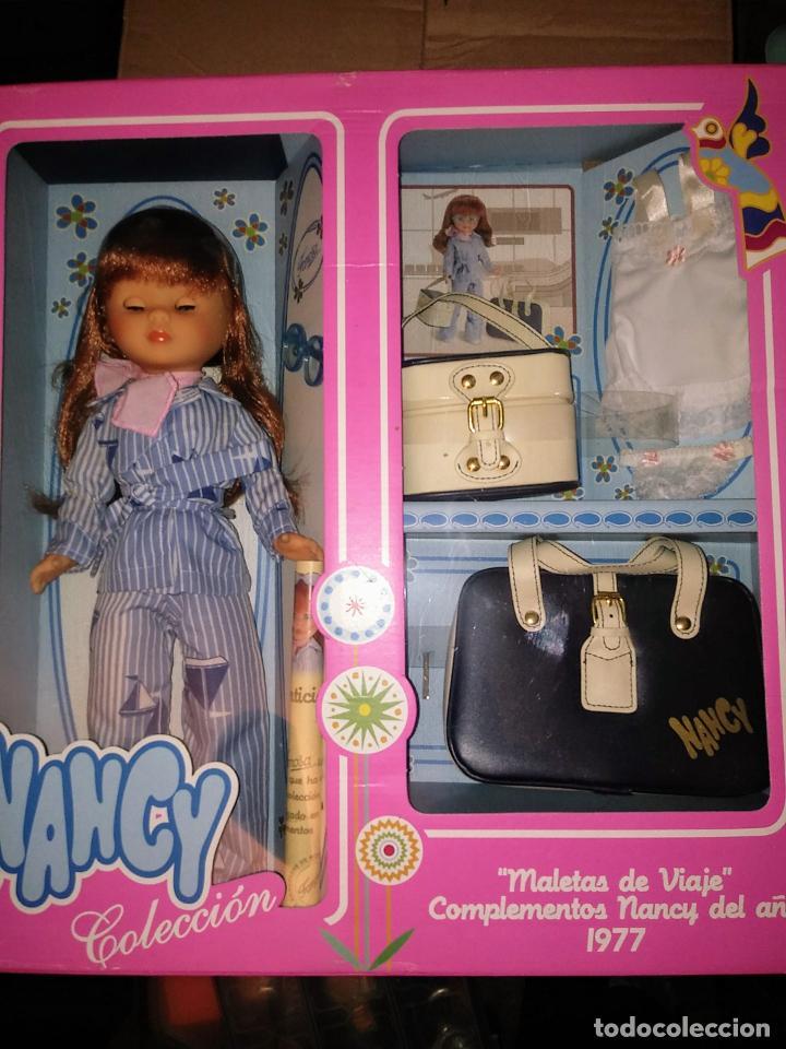NANCY Y SUS MALETAS DE REEDICION NUEVA EN CAJA (Juguetes - Muñeca Española Moderna - Nancy y Lucas)