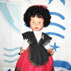 Muñecas Nancy y Lucas: NANCY AFRO MORENA AÑOS 80+ TRAJE ANTIGUO DE ASTURIANA COMPLETO INJERTADA A MAQUINA LEE DESCRIPCION. Lote 207486897