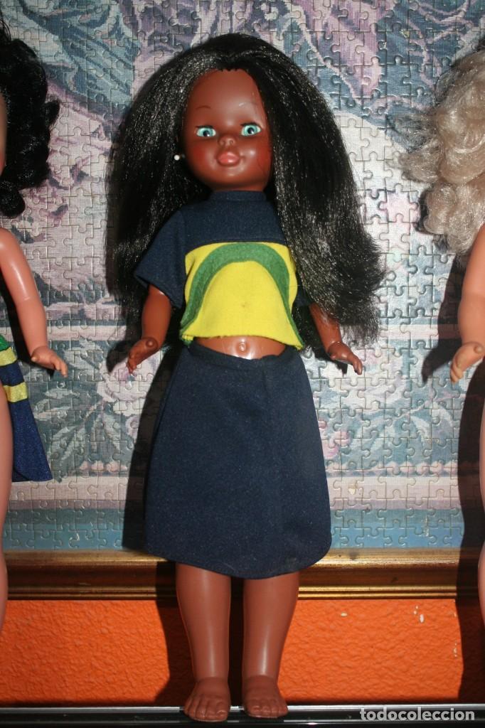 Muñecas Nancy y Lucas: antigua muñeca nancy negrita - Foto 2 - 232035060