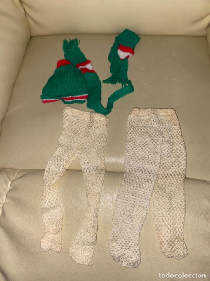 Muñecas Nancy y Lucas: Gorro bufanda medias leotardos para Muñeca NANCY DE FAMOSA - Foto 2 - 234755830