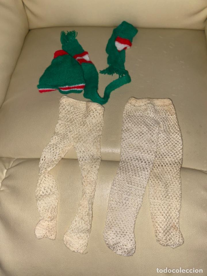 Muñecas Nancy y Lucas: Gorro bufanda medias leotardos para Muñeca NANCY DE FAMOSA - Foto 3 - 234755830