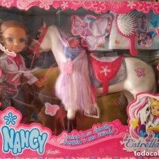 Bambole Nancy e Lucas: NANCY Y SU CABALLO - 2007 - NUEVA. Lote 235926640