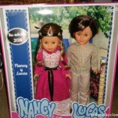 Muñecas Nancy y Lucas: NANCY Y LUCAS REEDICION 2018 EN CAJA PRECINTADA. Lote 236616590