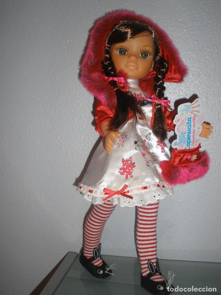 Muñecas Nancy y Lucas: Nancy new colección Vestidos de cuento Caperucita. - Foto 2 - 236708020