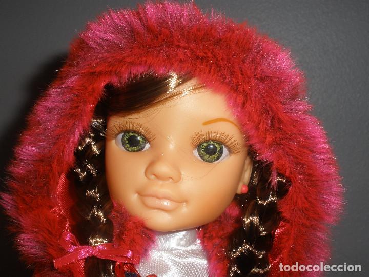 Muñecas Nancy y Lucas: Nancy new colección Vestidos de cuento Caperucita. - Foto 3 - 236708020