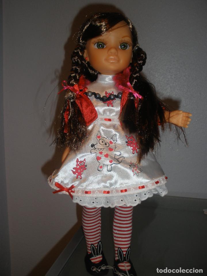 Muñecas Nancy y Lucas: Nancy new colección Vestidos de cuento Caperucita. - Foto 5 - 236708020
