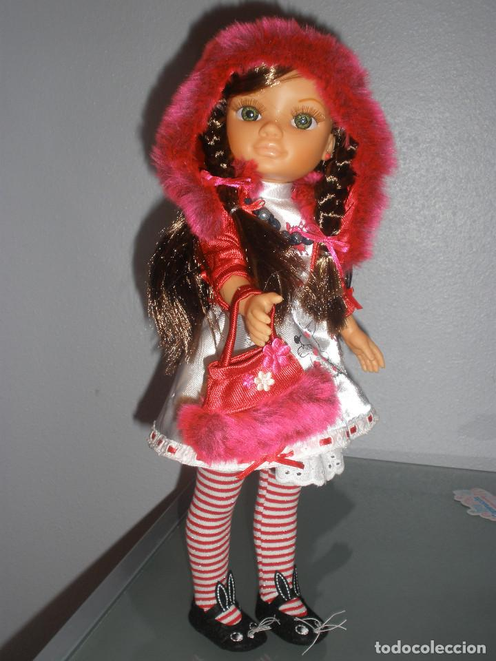 Muñecas Nancy y Lucas: Nancy new colección Vestidos de cuento Caperucita. - Foto 6 - 236708020