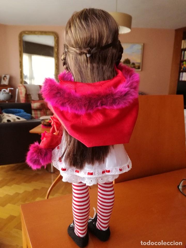 Muñecas Nancy y Lucas: Nancy new colección Vestidos de cuento Caperucita. - Foto 7 - 236708020