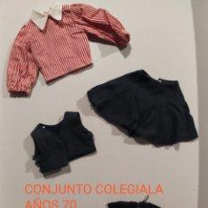 Muñecas Nancy y Lucas: CONJUNTO AÑOS 70 COLEGIALA NANCY. Lote 239605720
