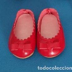 Muñecas Nancy y Lucas: == LP06 - ,MANOLETINAS ROJAS VALIDAS PARA NANCY CLASICA Y REEDICION. Lote 254081380