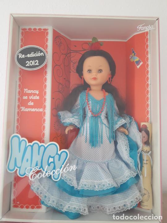 NANCY FLAMENCA REEDICION 2012 NUEVA A ESTRENAR Y DESCATALOGADA (Juguetes - Muñeca Española Moderna - Nancy y Lucas)