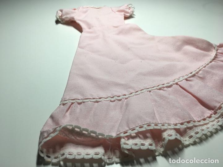 Muñecas Nancy y Lucas: Vestido rosa nancy ? Con estampado de flores y remates en mangas y volante - Foto 2 - 244528225