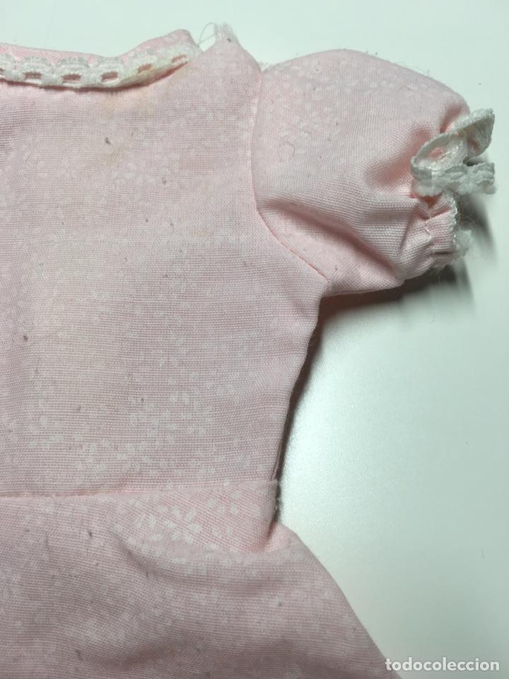 Muñecas Nancy y Lucas: Vestido rosa nancy ? Con estampado de flores y remates en mangas y volante - Foto 3 - 244528225