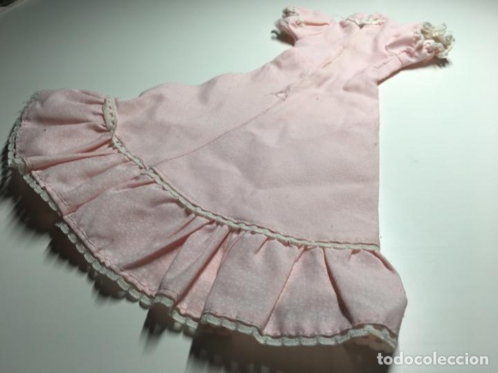 Muñecas Nancy y Lucas: Vestido rosa nancy ? Con estampado de flores y remates en mangas y volante - Foto 5 - 244528225