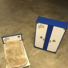 Muñecas Nancy y Lucas: ARMARIO Y CAMA NANCY. Lote 245504345