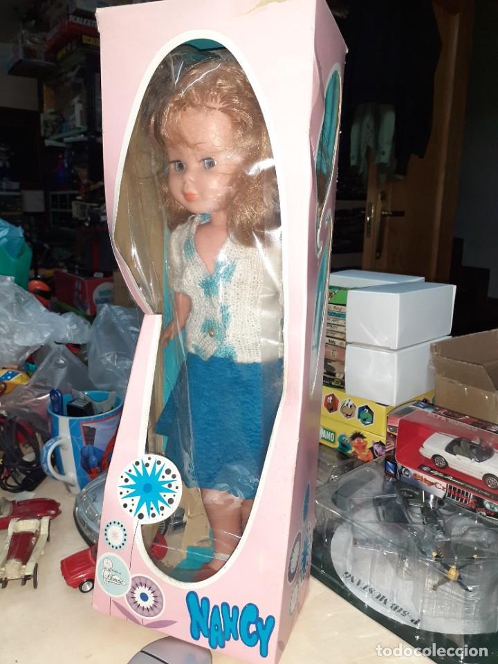 Muñecas Nancy y Lucas: Nancy Abril.Original años 70.Ojos de margarita en caja. - Foto 2 - 245974025