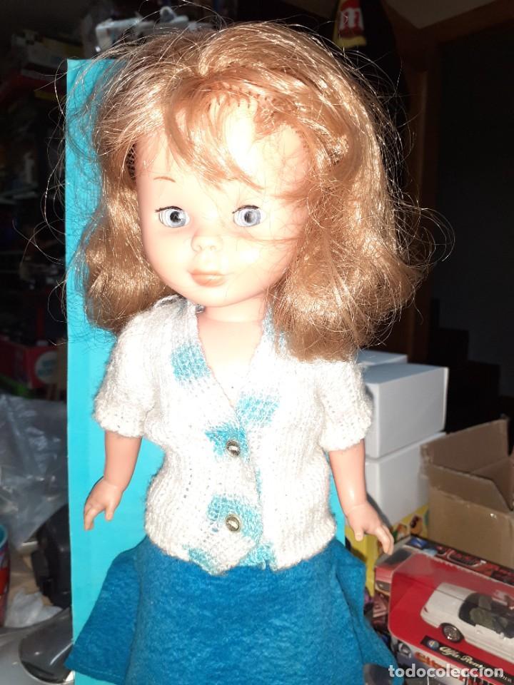 Muñecas Nancy y Lucas: Nancy Abril.Original años 70.Ojos de margarita en caja. - Foto 14 - 245974025
