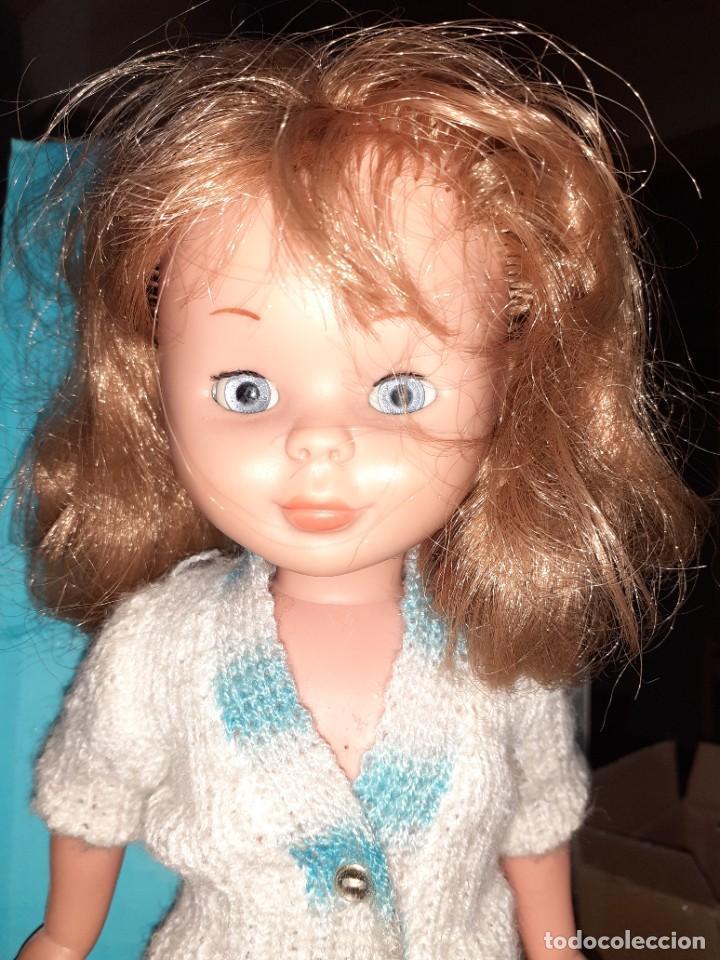 Muñecas Nancy y Lucas: Nancy Abril.Original años 70.Ojos de margarita en caja. - Foto 15 - 245974025