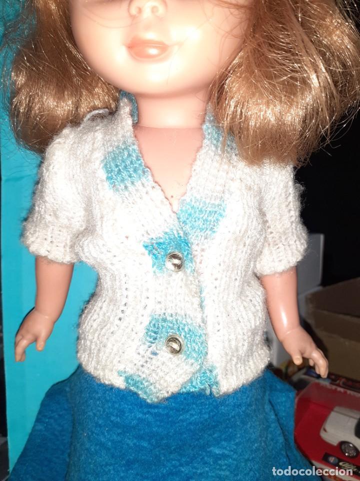 Muñecas Nancy y Lucas: Nancy Abril.Original años 70.Ojos de margarita en caja. - Foto 17 - 245974025