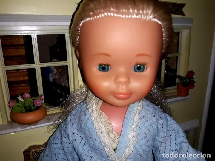 Muñecas Nancy y Lucas: Nancy Rubia Platino con Antiguo Conjunto Completo Lencería - Foto 9 - 249345395