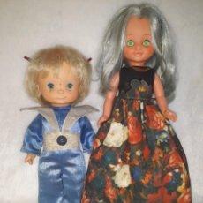 Muñecas Nancy y Lucas: LOTE SELENE Y GALAX. Lote 249390255