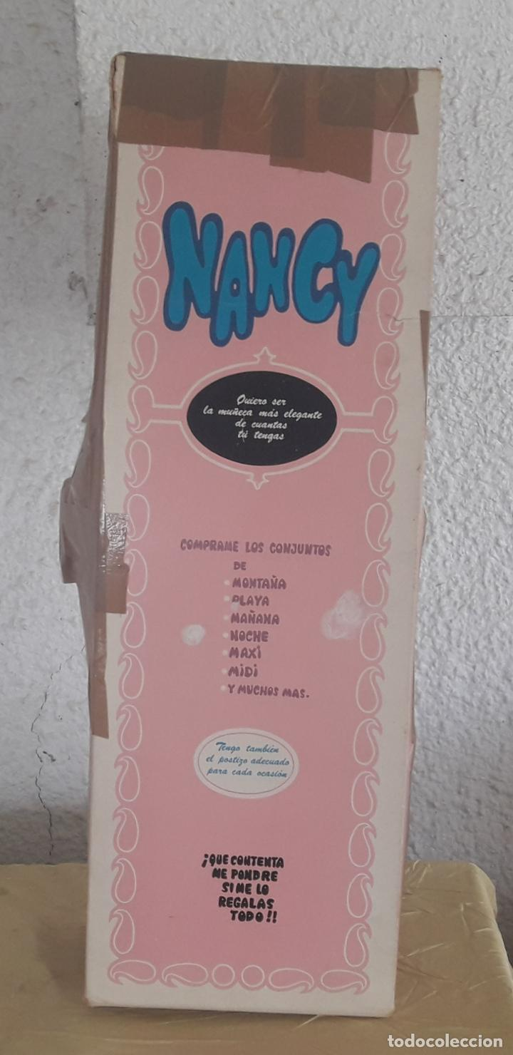 Muñecas Nancy y Lucas: MUÑECA NANCY Famosa rubia articulada con conjunto preu en caja original años 70. - Foto 26 - 249570235