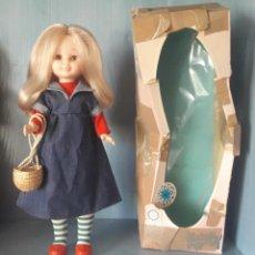Muñecas Nancy y Lucas: MUÑECA NANCY FAMOSA RUBIA ARTICULADA CON CONJUNTO PREU EN CAJA ORIGINAL AÑOS 70.. Lote 249570235