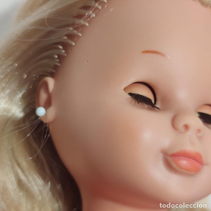 Muñecas Nancy y Lucas: Muñeca Nancy rubia con ojos castaños o miel. Pata bollo. Años 70. Ojos durmientes. Pelo largo. - Foto 10 - 253235640