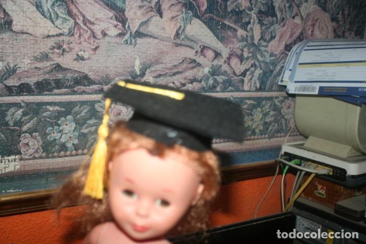 Muñecas Nancy y Lucas: sombrero nancy muñeca graduada original gorro birrete - Foto 4 - 254197715