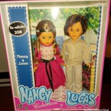 Muñecas Nancy y Lucas: NANCY Y LUCAS REEDICION 2018 EN CAJA PRECINTADA. Lote 254496020