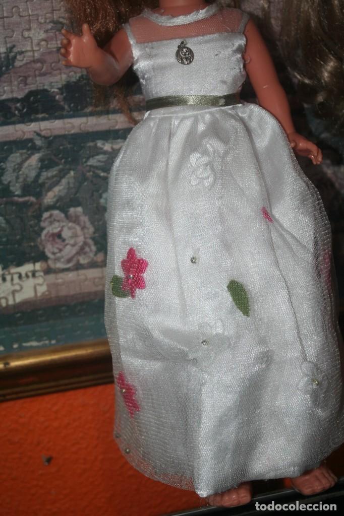 Muñecas Nancy y Lucas: vestido original muñeca nancy comunion - Foto 9 - 193722832