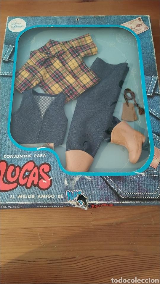 CONJUNTO LUCAS FAMOSA RANCHO (Juguetes - Muñeca Española Moderna - Nancy y Lucas, Vestidos y Accesorios)