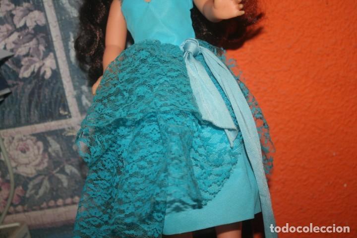 Muñecas Nancy y Lucas: vestido azul muñeca nancy cumpleaños feliz - Foto 2 - 255932745