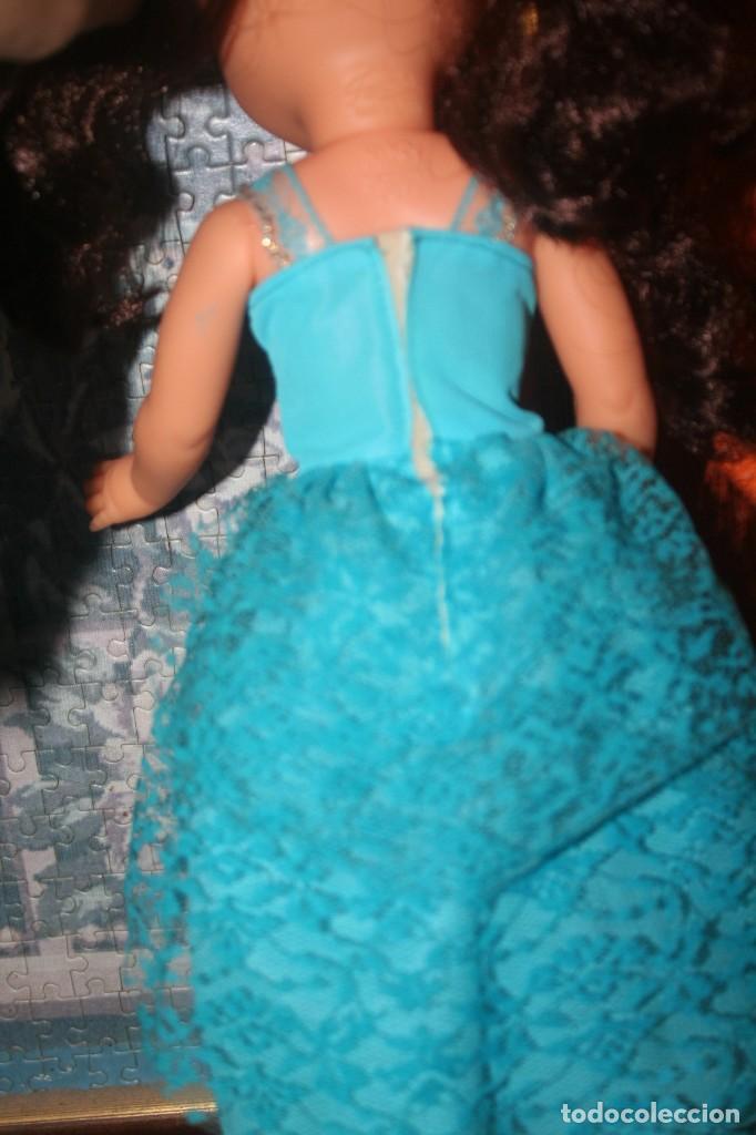 Muñecas Nancy y Lucas: vestido azul muñeca nancy cumpleaños feliz - Foto 3 - 255932745