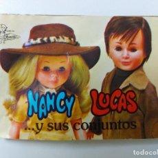 Muñecas Nancy y Lucas: ANTIGUO CATALOGO DE NANCY AÑO 1978 TIENE LA PRIMERA HOJA RASGADA EL RESTO EN PERFECTAS CONDICIONES. Lote 260338295